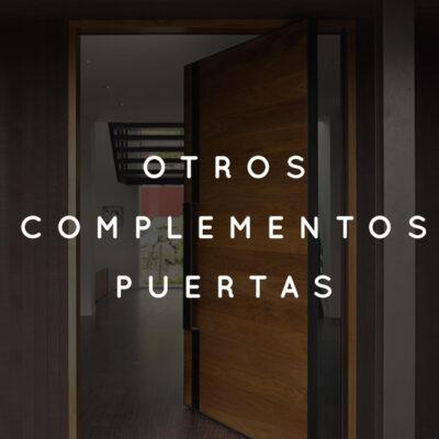 Otros complementos de puertas