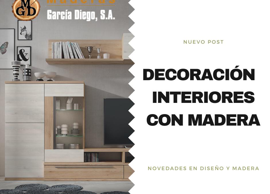 Decoración de interiores con madera