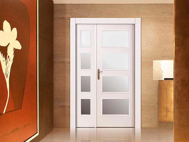 puerta pantografiada