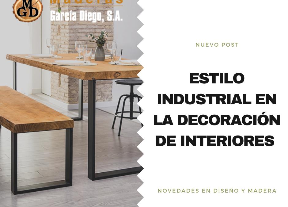 Estilo industrial en la decoración de interiores