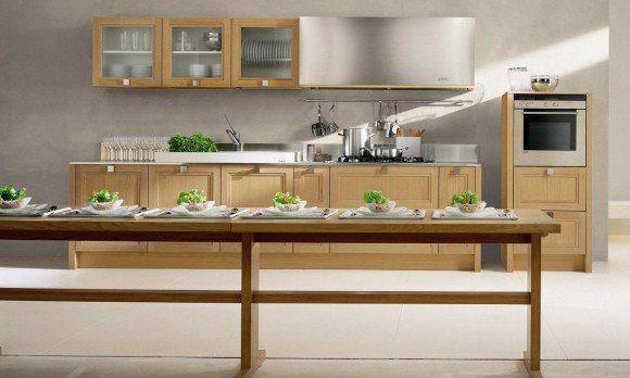 Las cocinas de madera